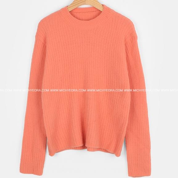 [2018冬季新款] 馬卡龍直條紋針織衣