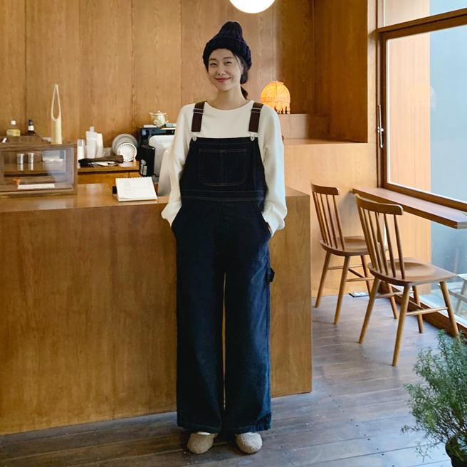 [2019冬季新款] 小男孩吊帶連身褲